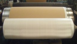 Paper Laminated HDPE / PP Woven Fabric